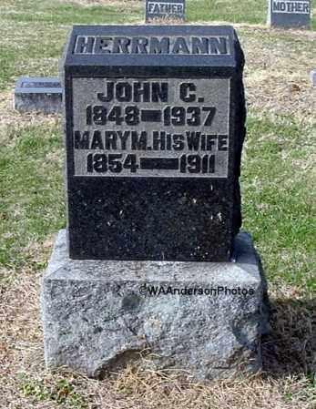 HERRMANN, MARY MATILDA - Gallia County, Ohio | MARY MATILDA HERRMANN - Ohio Gravestone Photos