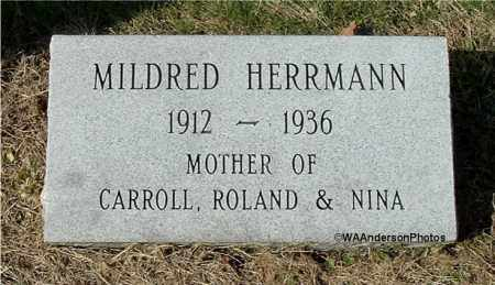 HERRMANN, MILDRED MARIE - Gallia County, Ohio | MILDRED MARIE HERRMANN - Ohio Gravestone Photos