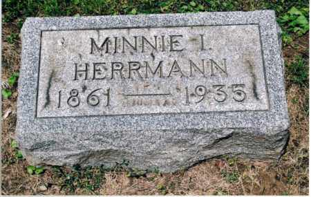 RIPLEY HERRMANN, MINNIE IRENE - Gallia County, Ohio | MINNIE IRENE RIPLEY HERRMANN - Ohio Gravestone Photos