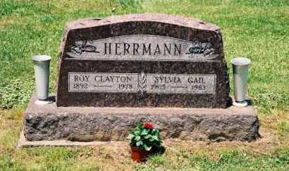 HERRMANN, ROYAL CLAYTON - Gallia County, Ohio | ROYAL CLAYTON HERRMANN - Ohio Gravestone Photos