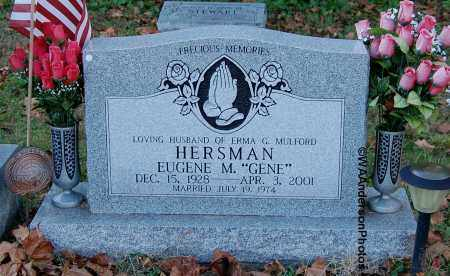 HERSMAN, EUGENE M - Gallia County, Ohio | EUGENE M HERSMAN - Ohio Gravestone Photos