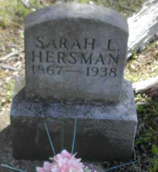 HERSMAN, SARAH - Gallia County, Ohio | SARAH HERSMAN - Ohio Gravestone Photos