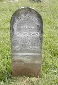 HIBBETS, MARGARET - Gallia County, Ohio   MARGARET HIBBETS - Ohio Gravestone Photos