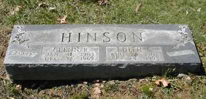HINSON, EDITH - Gallia County, Ohio | EDITH HINSON - Ohio Gravestone Photos