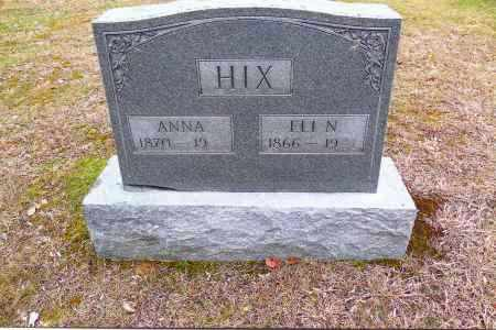 SCOTT HIX, ANNA - Gallia County, Ohio | ANNA SCOTT HIX - Ohio Gravestone Photos