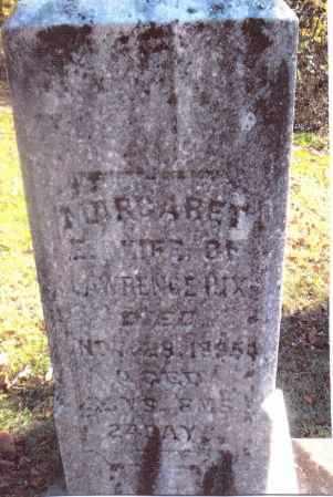 COUGHENOUR HIX, MARGARET - Gallia County, Ohio | MARGARET COUGHENOUR HIX - Ohio Gravestone Photos