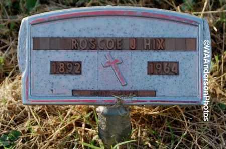 HIX, ROSCOE J - Gallia County, Ohio | ROSCOE J HIX - Ohio Gravestone Photos
