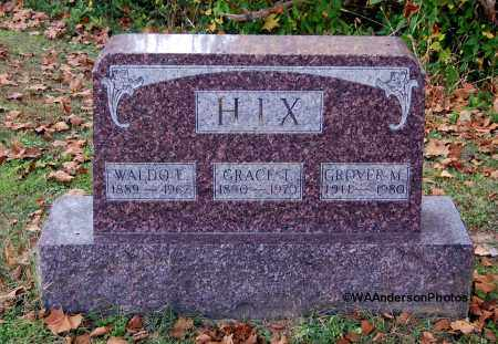 HIX, WALDO E - Gallia County, Ohio | WALDO E HIX - Ohio Gravestone Photos