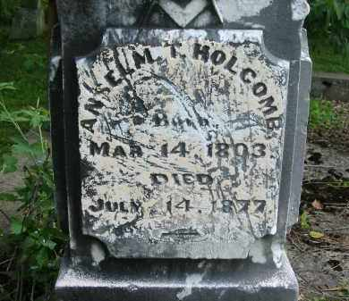 HOLCOMB, ANSELM T. - Gallia County, Ohio | ANSELM T. HOLCOMB - Ohio Gravestone Photos