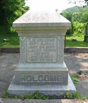 HOLCOMB, C.M. - Gallia County, Ohio | C.M. HOLCOMB - Ohio Gravestone Photos
