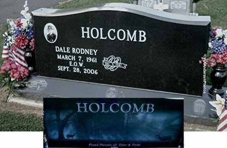 HOLCOMB, DALE RODNEY (SGT) - Gallia County, Ohio | DALE RODNEY (SGT) HOLCOMB - Ohio Gravestone Photos