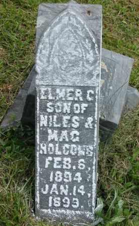 HOLCOMB, ELMER C. - Gallia County, Ohio | ELMER C. HOLCOMB - Ohio Gravestone Photos