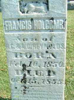 HOLCOMB, FRANCIS - Gallia County, Ohio | FRANCIS HOLCOMB - Ohio Gravestone Photos
