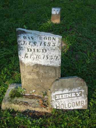 HOLCOMB, HENRY - Gallia County, Ohio | HENRY HOLCOMB - Ohio Gravestone Photos
