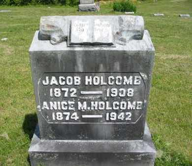 HOLCOMB, JACOB - Gallia County, Ohio | JACOB HOLCOMB - Ohio Gravestone Photos