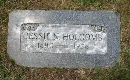 HOLCOMB, JESSIE N. - Gallia County, Ohio | JESSIE N. HOLCOMB - Ohio Gravestone Photos