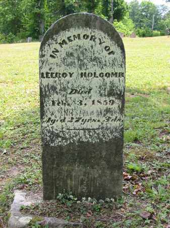 HOLCOMB, LEEROY - Gallia County, Ohio | LEEROY HOLCOMB - Ohio Gravestone Photos