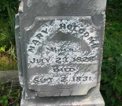HOLCOMB, MARY - Gallia County, Ohio | MARY HOLCOMB - Ohio Gravestone Photos