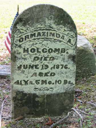 HOLCOMB, ORMAZINDA A. - Gallia County, Ohio | ORMAZINDA A. HOLCOMB - Ohio Gravestone Photos