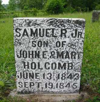 HOLCOMB, SAMUEL R. JR. - Gallia County, Ohio | SAMUEL R. JR. HOLCOMB - Ohio Gravestone Photos