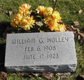 HOLLEY, WILLIAM - Gallia County, Ohio | WILLIAM HOLLEY - Ohio Gravestone Photos