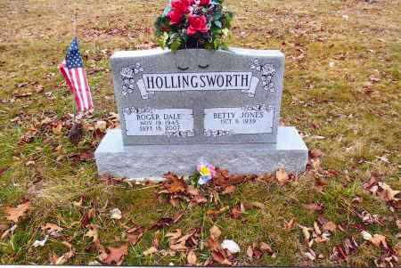 JONES HOLLINGSWORTH, BETTY - Gallia County, Ohio | BETTY JONES HOLLINGSWORTH - Ohio Gravestone Photos