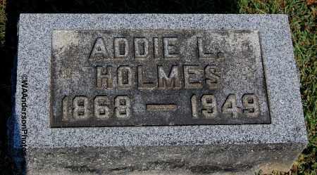 HOLMES, ADDIE L - Gallia County, Ohio | ADDIE L HOLMES - Ohio Gravestone Photos
