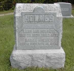 HOLMES, LEAR - Gallia County, Ohio | LEAR HOLMES - Ohio Gravestone Photos