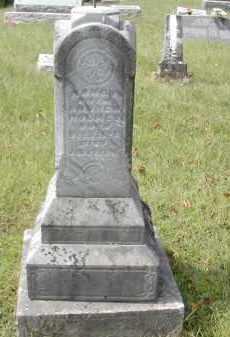 HOLMES, NANCY - Gallia County, Ohio | NANCY HOLMES - Ohio Gravestone Photos