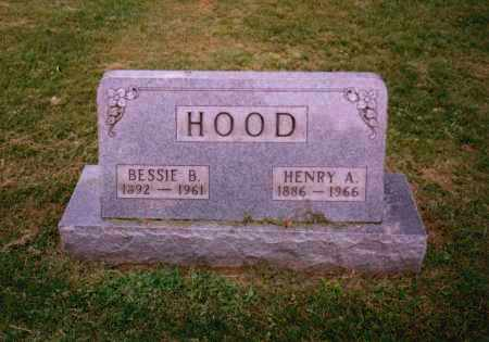 HOOD, BESSIE B. - Gallia County, Ohio | BESSIE B. HOOD - Ohio Gravestone Photos