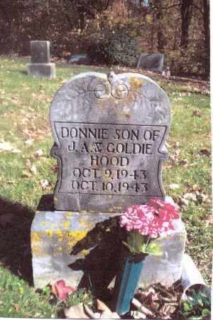 HOOD, DONNIE - Gallia County, Ohio | DONNIE HOOD - Ohio Gravestone Photos