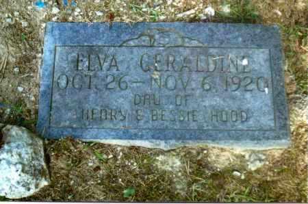 HOOD, ELVA GERALDINE - Gallia County, Ohio | ELVA GERALDINE HOOD - Ohio Gravestone Photos