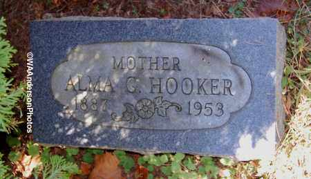 HOOKER, ALMA G - Gallia County, Ohio | ALMA G HOOKER - Ohio Gravestone Photos