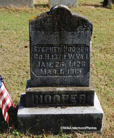 HOOPER, STEPHEN - Gallia County, Ohio | STEPHEN HOOPER - Ohio Gravestone Photos