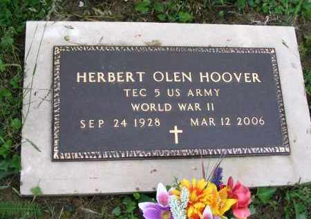 HOOVER, HERBERT OLEN - Gallia County, Ohio | HERBERT OLEN HOOVER - Ohio Gravestone Photos