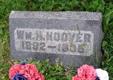 HOOVER, WILLIAM H. - Gallia County, Ohio | WILLIAM H. HOOVER - Ohio Gravestone Photos