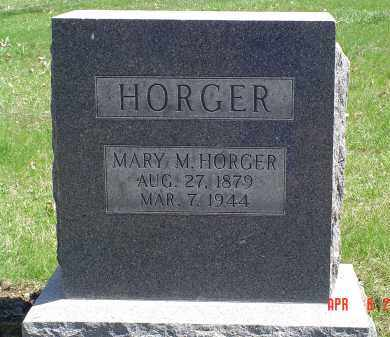 HORGER, MARY M. - Gallia County, Ohio | MARY M. HORGER - Ohio Gravestone Photos