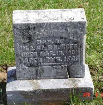HORGER, RUTH - Gallia County, Ohio | RUTH HORGER - Ohio Gravestone Photos