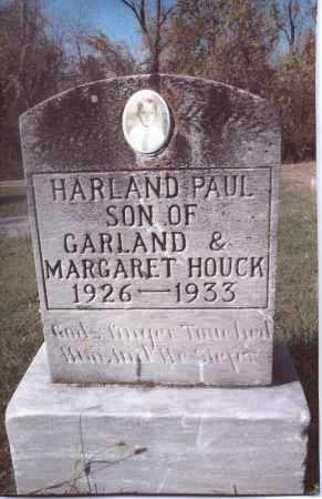HOUCK, HARLAND PAUL - Gallia County, Ohio | HARLAND PAUL HOUCK - Ohio Gravestone Photos