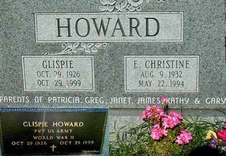 HOWARD, E CHRISTINE - Gallia County, Ohio | E CHRISTINE HOWARD - Ohio Gravestone Photos