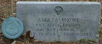 HOWE, AMASA - Gallia County, Ohio | AMASA HOWE - Ohio Gravestone Photos