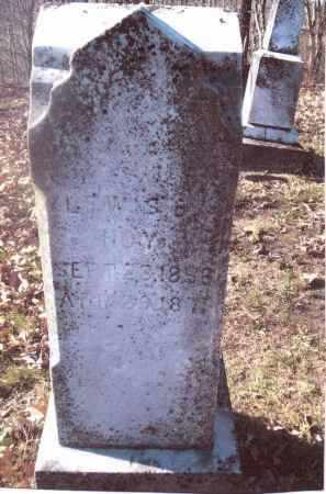 HOY, LEWIS B. - Gallia County, Ohio | LEWIS B. HOY - Ohio Gravestone Photos