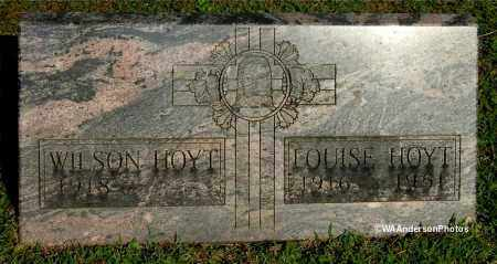 HOYT, WILSON - Gallia County, Ohio | WILSON HOYT - Ohio Gravestone Photos