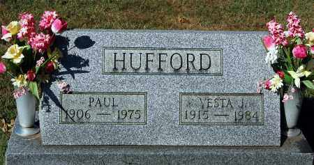 HUFFORD, VESTA J - Gallia County, Ohio | VESTA J HUFFORD - Ohio Gravestone Photos
