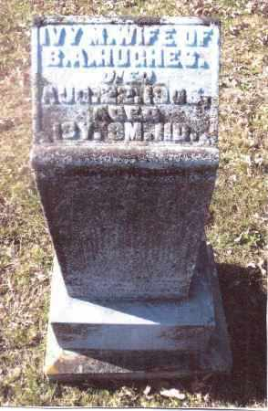 HUGHES, IVY M. - Gallia County, Ohio | IVY M. HUGHES - Ohio Gravestone Photos