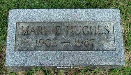 HUGHES, MARY E - Gallia County, Ohio   MARY E HUGHES - Ohio Gravestone Photos