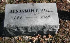 HULL, BENJAMIN F. - Gallia County, Ohio | BENJAMIN F. HULL - Ohio Gravestone Photos