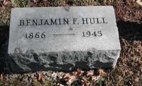 HULL, BENJAMIN F. - Gallia County, Ohio   BENJAMIN F. HULL - Ohio Gravestone Photos