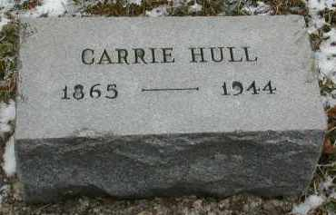 HULL, CARRIE - Gallia County, Ohio | CARRIE HULL - Ohio Gravestone Photos