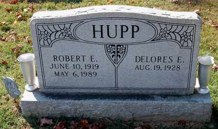 HUPP, ROBERT E - Gallia County, Ohio | ROBERT E HUPP - Ohio Gravestone Photos